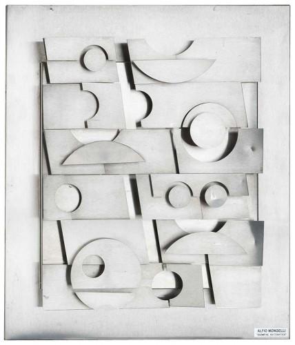 """Alfio Mongelli -""""Scomposizione matematica""""- ABC, 1980"""