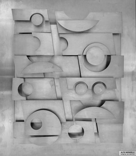 """Alfio Mongelli -""""Scomposizione matematica""""- ABC, 1980 - Sculpture Style 50"""