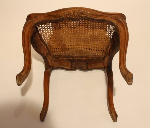 Seating  - Pair of Louis XV caned chairs