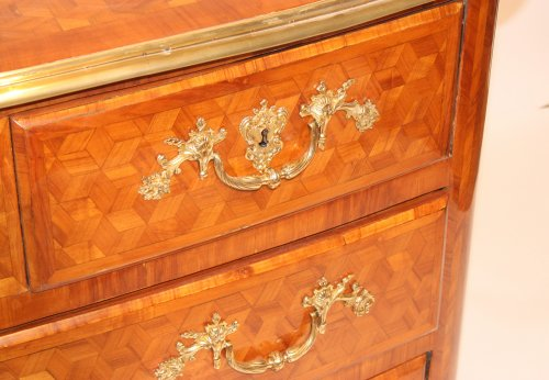 A Louis XIV chest of drawers -