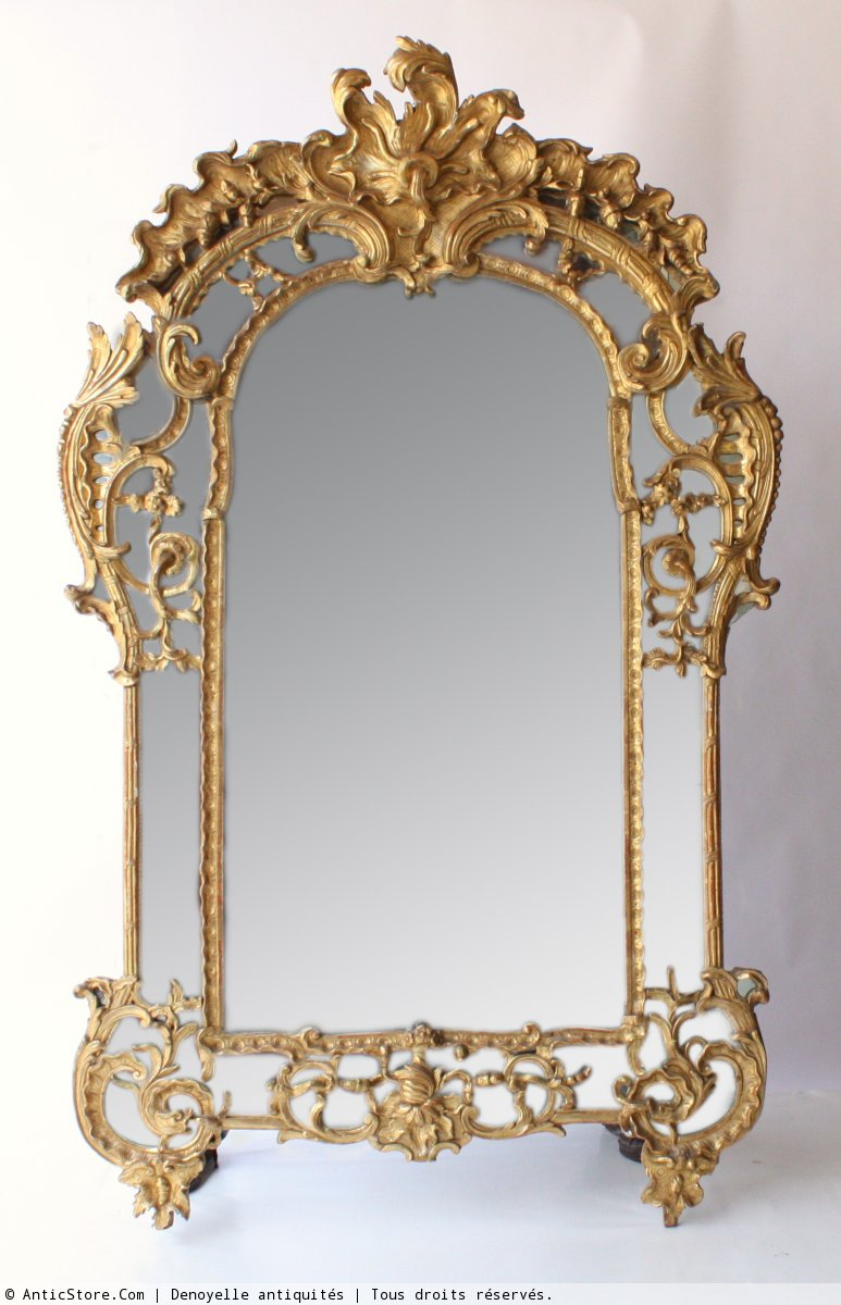 Miroir parecloses louis xiv xviiie si cle for Miroir xviii