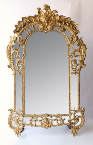Miroir à Parecloses Louis XIV