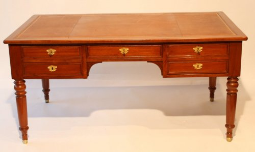 Furniture  - 19thc. Mahogany desk