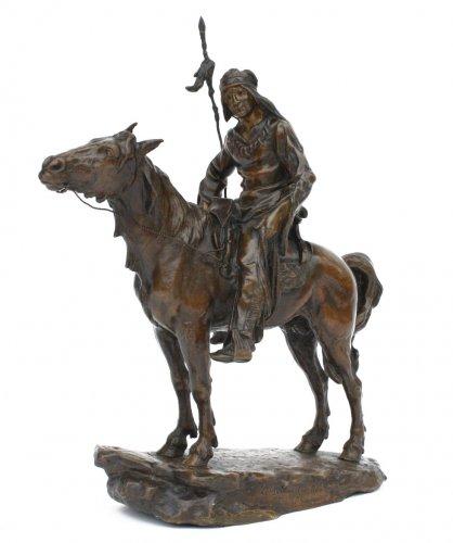 Bronze by Antoine Bofill - Le dernier d'une race