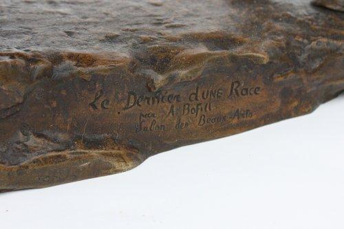 Sculpture  - Bronze by Antoine Bofill - Le dernier d'une race