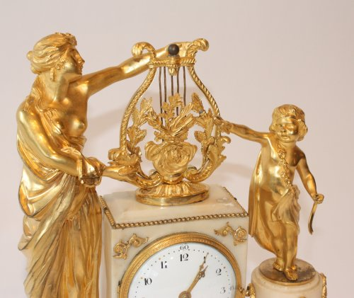 A Louis XVI mantle clock - Clocks Style Louis XVI