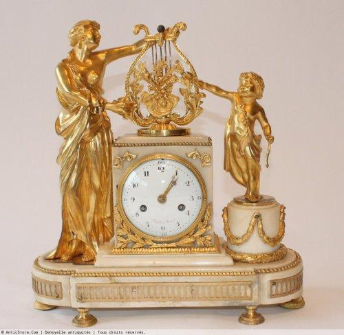18th century - A Louis XVI mantle clock