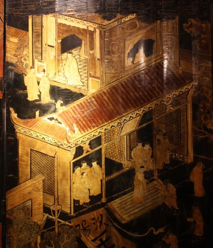 Chinese screen from 17° century - Asian Art & Antiques Style