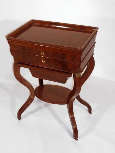 19thc. mahogany sewing box
