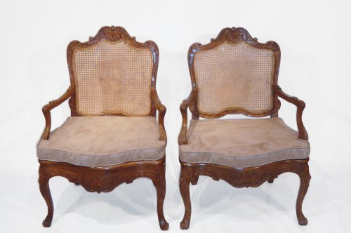 Pair of Regence Style Armchairs