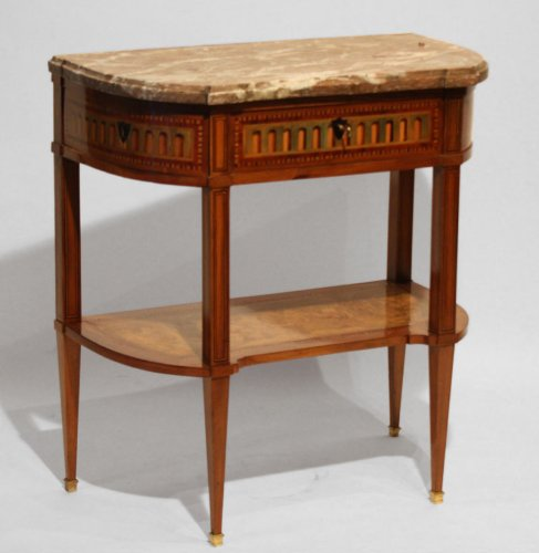 Cabinet console Louis XVI inlaid