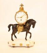 The horse clock Louis XVI
