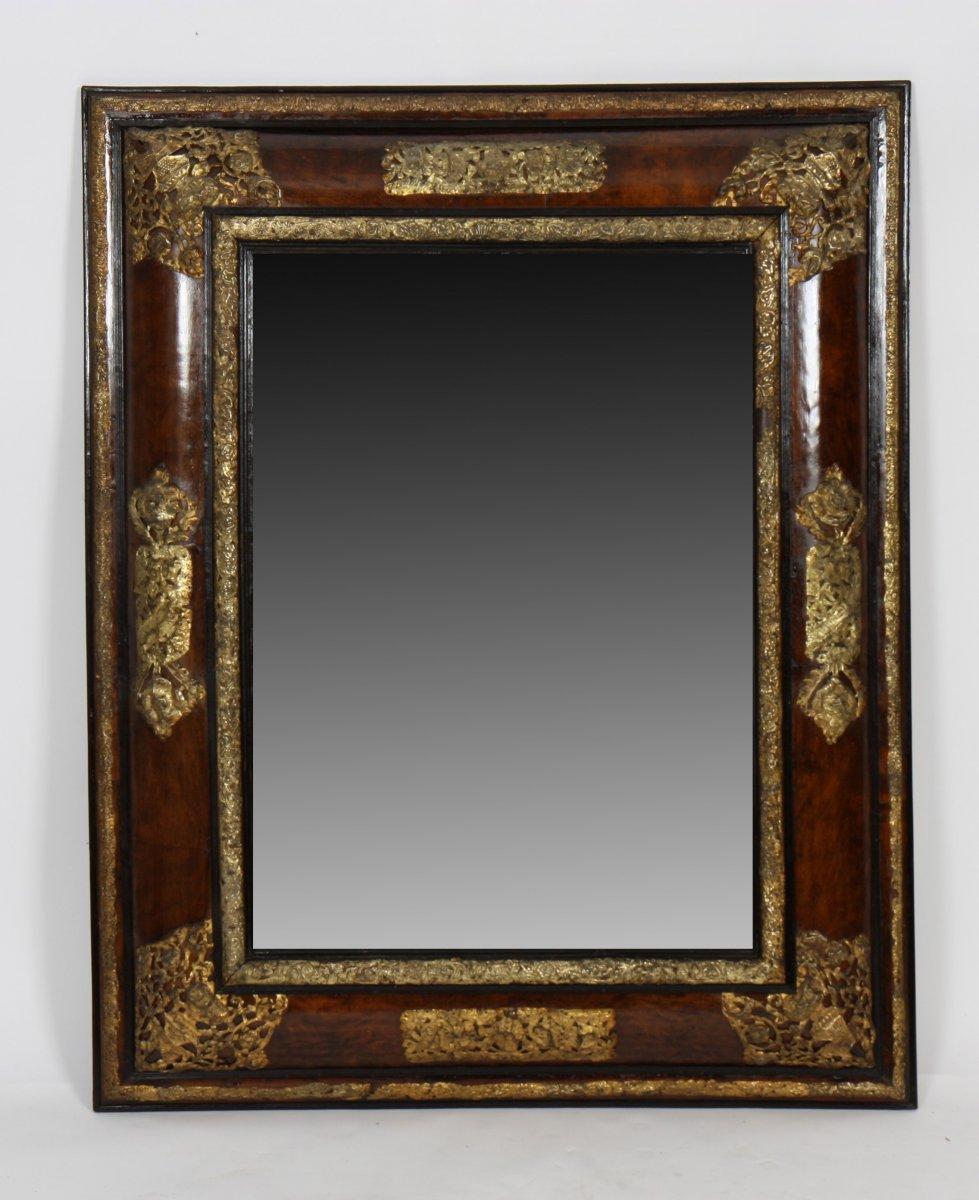 Important miroir d but du xixe si cle for Miroir xix siecle