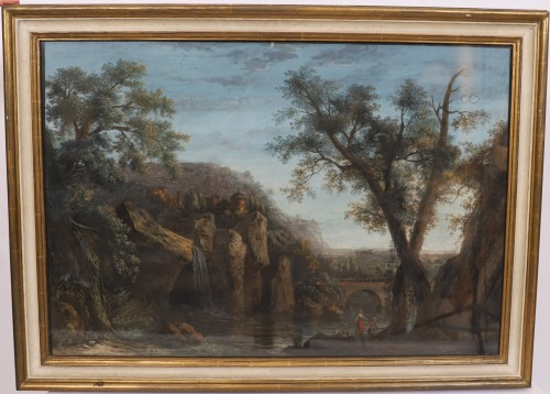 Pair of Italian gouaches - Jean-Baptiste POURCELLY (act. 1791-1802) -