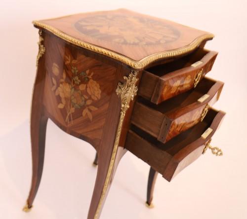 Furniture  - Louis XV table stamped Nicolas Petit