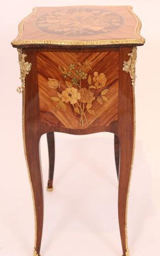 Louis XV table stamped Nicolas Petit -
