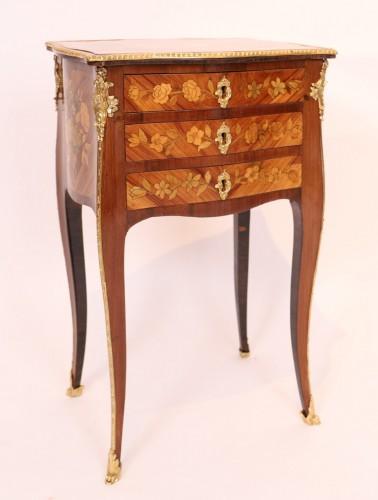 Antiquités - Louis XV table stamped Nicolas Petit