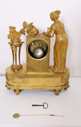"Empire Clock ""Birth of the Duke of Bordeaux"". -"