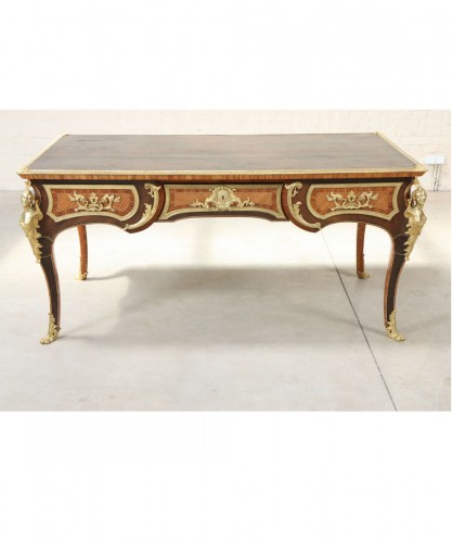 Inlaid double-sided Bureau plat - Furniture Style