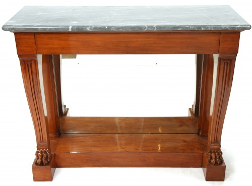 Console stamped JACOB - Furniture Style