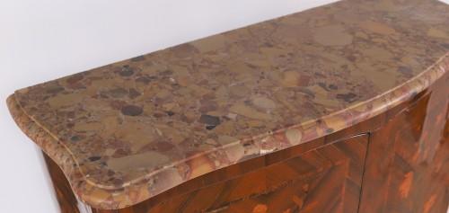 Furniture  - Louis XV inlaid cabinet