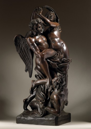 The Abduction of Orithyia by Boreas - Sculpture Style