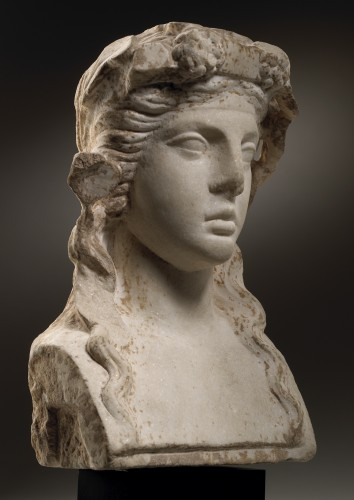 Herm of Bacchus - Ancient Art Style
