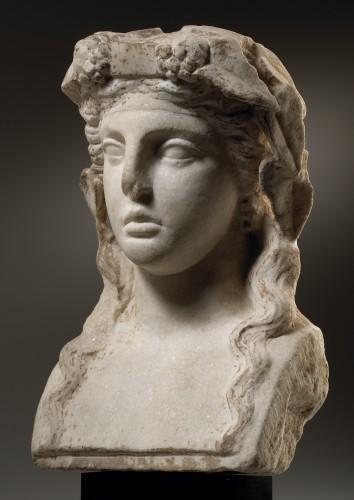 Ancient Art  - Herm of Bacchus