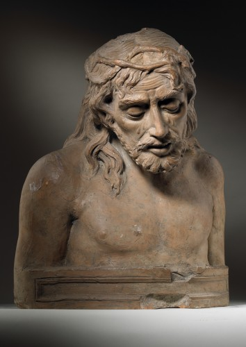 Christ as a Man of Sorrows - Sculpture Style Renaissance