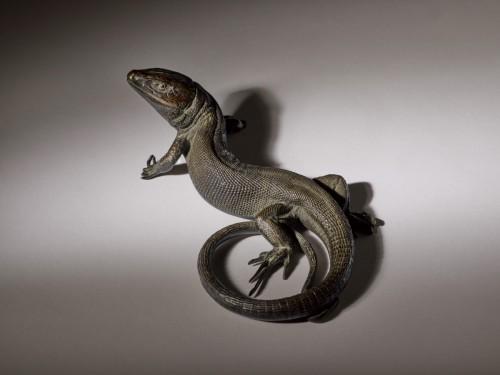 Bronze Lizard - Sculpture Style
