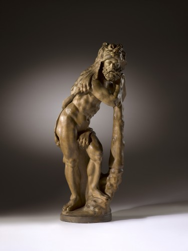 Hercules at Rest - Sculpture Style