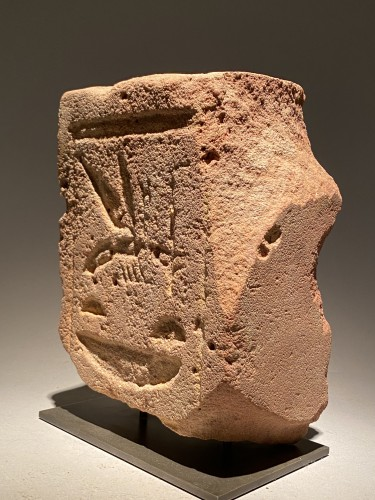 Ancient Art  - Egyptian Back Pillar - Nsw.t - Bit.y