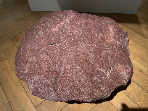 Large chunk of Ancient Egyptian Porphyry -