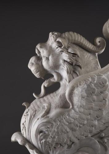 Lichtenstein Lion - Griffin - Sculpture Style
