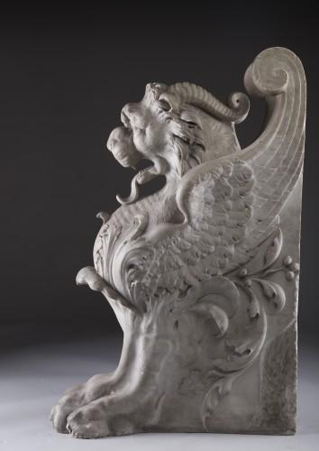 Sculpture  - Lichtenstein Lion - Griffin