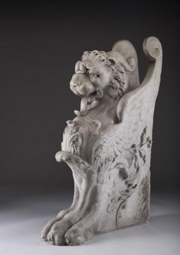 19th century - Lichtenstein Lion - Griffin