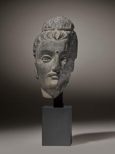 Gandhara Head of Buddha - Ancient Art Style