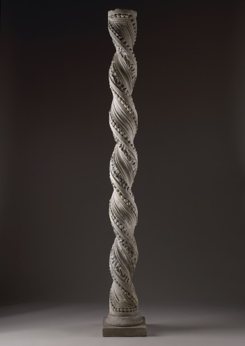 Foliated Twisted column - Sculpture Style Middle age