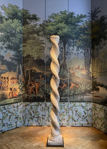 Sculpture  - Foliated Twisted column