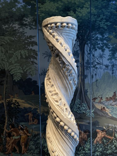 Middle age - Foliated Twisted column