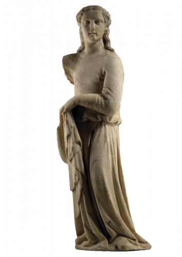 Draped Female Figure / Angel