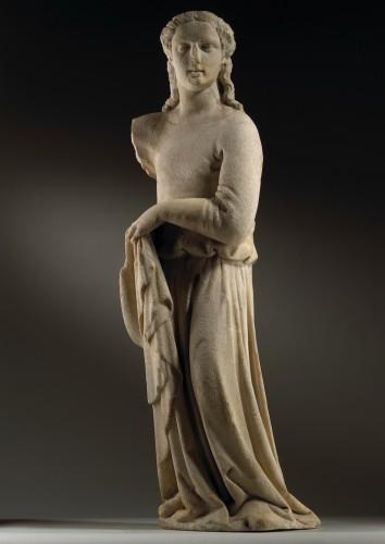 Sculpture  - Draped Female Figure / Angel