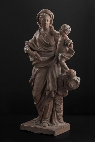 18th century - Madonna and Child