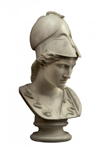 Monumental bust of Minerva / Athena Pallas - Velletri type