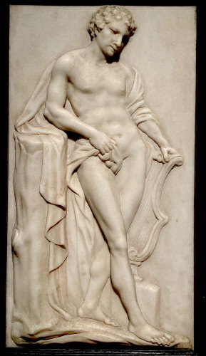 Marble Relief of Apollo - Sculpture Style