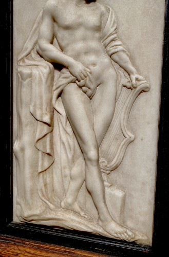Marble Relief of Apollo -