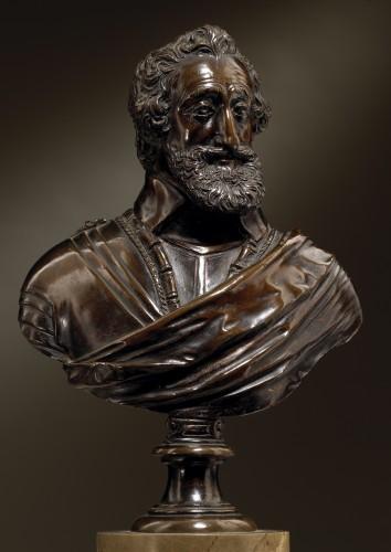 Sculpture  - Buste of Henry IV  workshop of Barthélemy Prieur