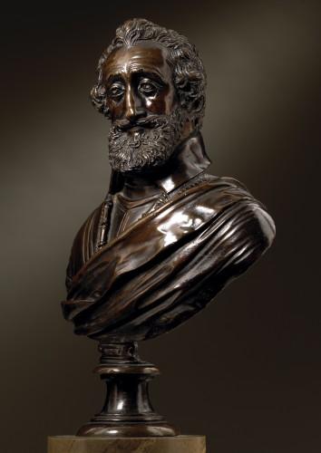 Buste of Henry IV  workshop of Barthélemy Prieur -