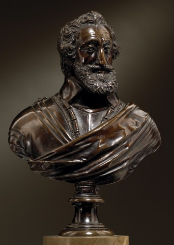 Buste of Henry IV  workshop of Barthélemy Prieur - Renaissance