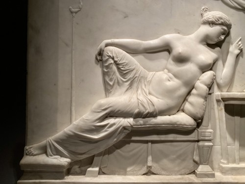 Venus and Cupid, by Patric Park, Rome, 1833 -